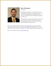 resume bio template | Template