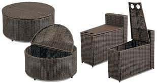 when you choose furniture for small patios don t overlook storage depending on how you use your outdoor space and how far it is from the main part of the