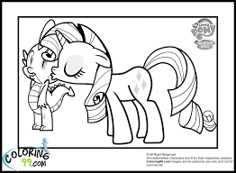 Small Picture 17 best images about my little pony coloring pages on pinterest