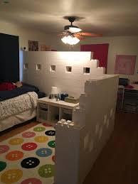 Amazing #everblock #everblocksystems #bedroom #roomdivider #dividingwall  #portablewall #partition #privacy