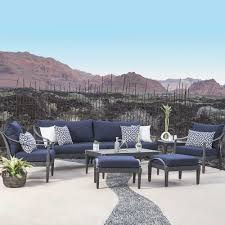 navy blue patio chair cushions awesome inspirational outdoor furniture covers bay square bistro dining sets rocking