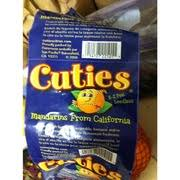 cuties mandarins from california nutrition grade a 90 calories