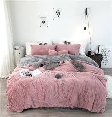 grey and white duvet cover white grey pink fleece fabric duvet cover pillowcase bed sheet black