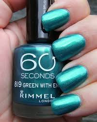 Rimmel London 60 Seconds Nail Polish In Green With Envy