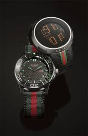 gifts for her gucci rubber strap digital watch nylon strap watch