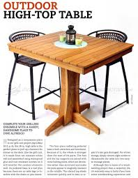 decorating good looking outdoor high top table and chairs 18 2153 plans 1 outdoor high top