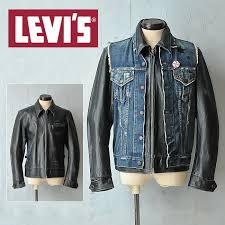denim vest with leather jackets 70306 9302 big e sspopular03mar13 mensfashion