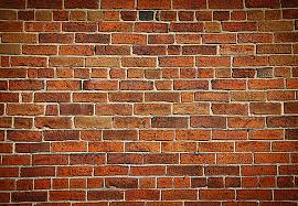 red brick wall photo wallpaper very