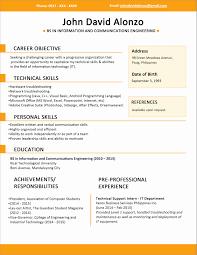 Free Creative Resume Templates Free Creative Resume Templates Awesome Writing A Resume Template 78