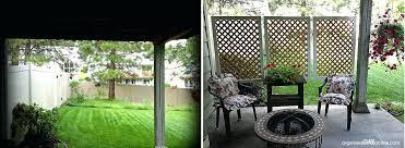 create patio screens screening ideas backyard screened outdoor privacy screen