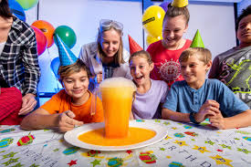 Child Birthday Celebrating Childrens Birthdays Party Venue Scitech