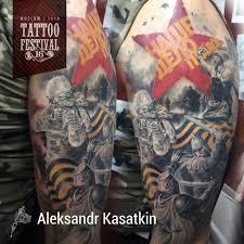 московский тату фестиваль 2018