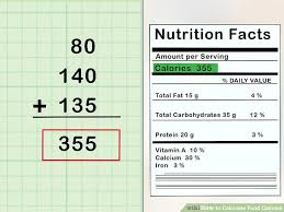 image led calculate food calories step 4