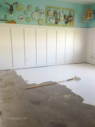 painted concrete floorstips on how to paint concrete flooring