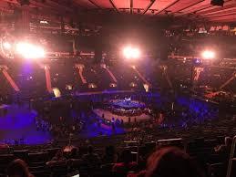 Msg Justin Timberlake Seating Chart Madison Square Garden Section 209 Row 8 Seat 13 Justin