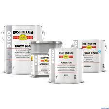 Rustoleum High Performance Epoxy 9100 Paintshack