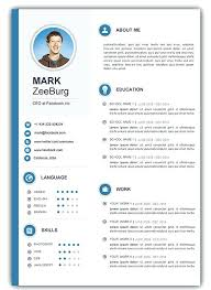 Resume Document Format Gorgeous Resume Template Word Doc Sample Templates For Photo Image Document