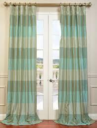 jade teal iridescence faux silk taffeta curtain ds halfds