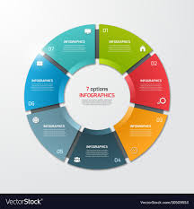 Infographic Chart Pie Chart Infographic Template 7 Options