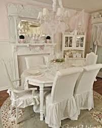 shabby chic dining chair slipcovers shabby chic