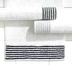 striped bath rugs tropical palm rug with tassels blue getmojito striped bathroom rugs