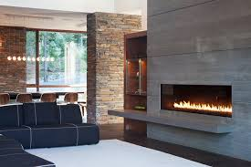 Wall Mount Floating TV Media Stand With Fireplace  Small Spaces Floating Fireplace