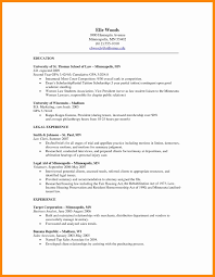 50 Lovely Nyu Law Resume Format Writing Tips Samples For Freshers