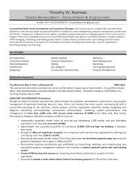 Real Estate Asset Manager Resume Resume For Study