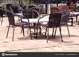 Und Oilslo215369706 Tisch Stuhl Stahl Stockfoto Xoecbrdqw