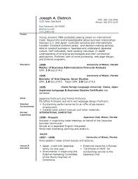 Microsoft Word Resume Format – Armni.co