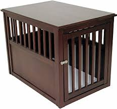 dog crates as furniture. Crown Pet Products Crate Wood Dog Furniture End Table, Medium Size With Espresso Crates As