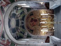 Siebenarmiger Leuchter Kirche