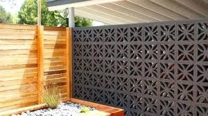decorative cinder block wall contemporary decorative concrete block charming at curtain decor