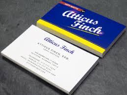 Nyc Business Cards Matte Linen Silk Business Cards