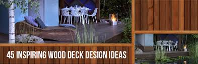 Backyard Deck Design Ideas Inspiration 48 Inspiring Wood Deck Design Ideas Kebony