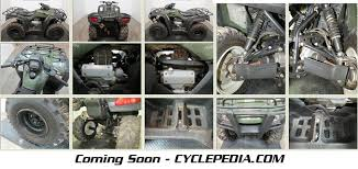 cyclepedia 2000 2006 honda trx350 rancher atv online manual cyclepedia trx350 rancher manual