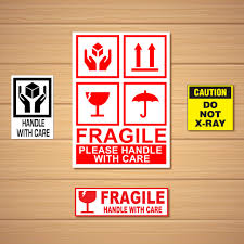 material handling labels stickers