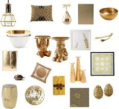 Small Picture Shopping For Gold Home Decor Accents POPSUGAR Home
