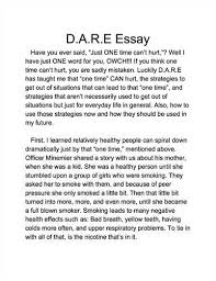 dare essay examples lake murray elementary dare graduation and  d a r e essay essays anti essaysd a r e essays related