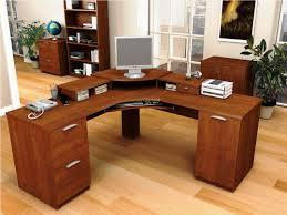 Image of: Modern Small Computer Workstation Desks