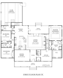 Southern Heritage Home Designs  House Plan 2890B The DAVENPORT BFloor Plans With Garage