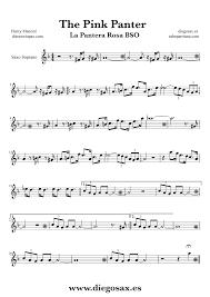 alto sax pink panther sheet music pink panther alto sax sheet music cakepins com music pinterest
