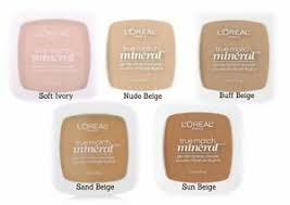 Details About Loreal True Match Mineral Powder Foundation 8 Shades Choose Shade Quantity