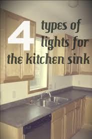 make it work kitchen sink lighting through the front door above sink lighting