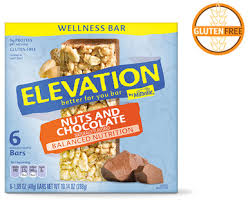 elevation by millville nuts chocolate wellness bars