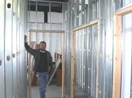Metal framing studs Blocking Metal Studs Vs Wood Studs Magnificent Metal Framing Studs Regarding Home First Time With Steel Remodeling Metal Studs Clarkdietrich Metal Studs Vs Wood Studs Crafty Ideas Metal Wall Studs Steel