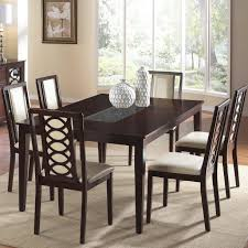 7 piece dining table set on brilliant room in and chair by cramco inc wolf