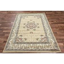 brown fl area rugs oriental beige rug nice medallion cream vines ivory border red accents ter
