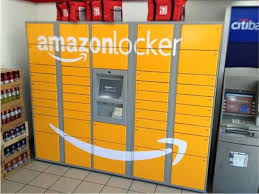 Used Vending Machines Amazon Delectable Here's A Picture Of Amazon Locker The New Delivery Box Amazon Is