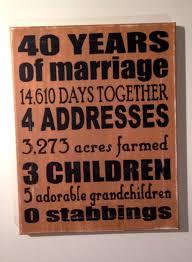 best 25 35th wedding anniversary ideas on pinterest 40 wedding Wedding Anniversary Gifts For Parents 35 Years 40th wedding anniversary party ideas wedding ideas street Best Anniversary Gift for Parents